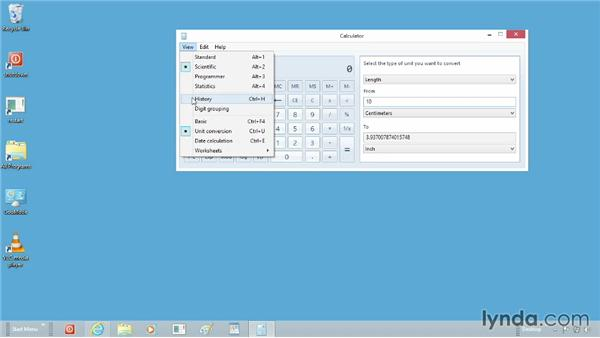 Using calculator templates: Windows 8 Tips and Tricks