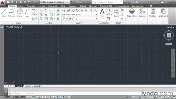 Working with metric units: AutoCAD 2014 Essentials: 02 Drawing Fundamentals