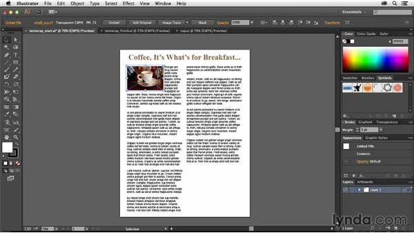 How to use text wrapping in Illustrator: Creative Quick Tips