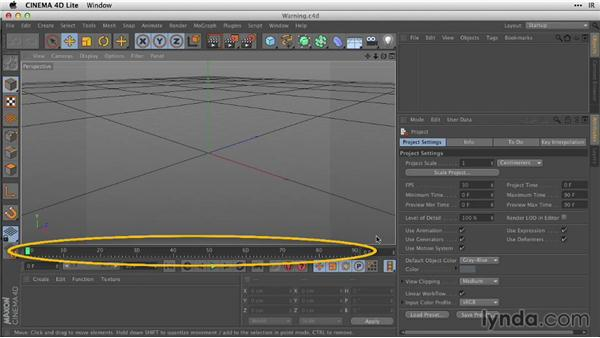 Matching frame rates and project settings: After Effects Guru: Working with 3D in C4D Lite