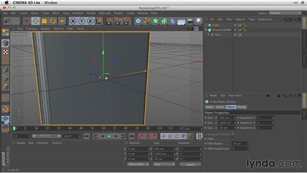 Repeating graphics with primitives and arrays: After Effects Guru: Working with 3D in C4D Lite