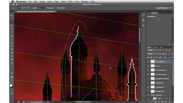 Towers and domes: Digital Matte Painting Essentials 2: Perspective