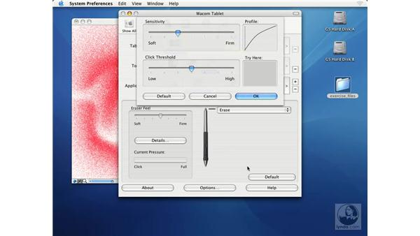 setting up a wacom tablet: Getting Started with Corel Painter IX