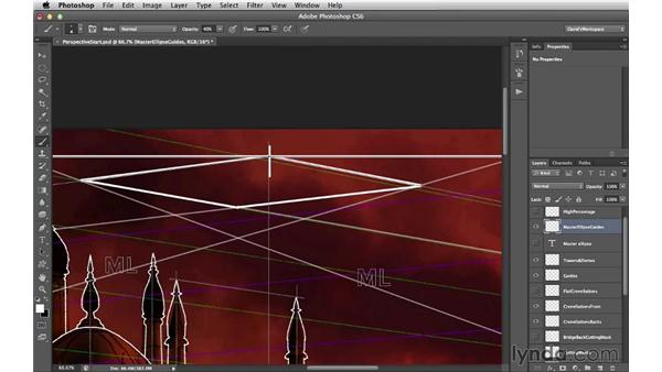 Determining your master ellipse: Digital Matte Painting Essentials 2: Perspective