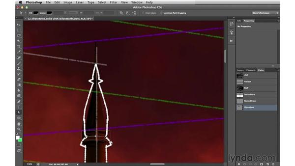 Adding the final ellipses: Digital Matte Painting Essentials 2: Perspective