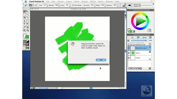 creating, duplicating, and deleting layers: Getting Started with Corel Painter IX