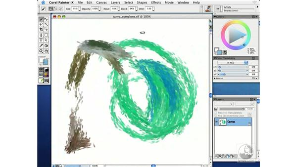 cloning paintings from photographs: Getting Started with Corel Painter IX