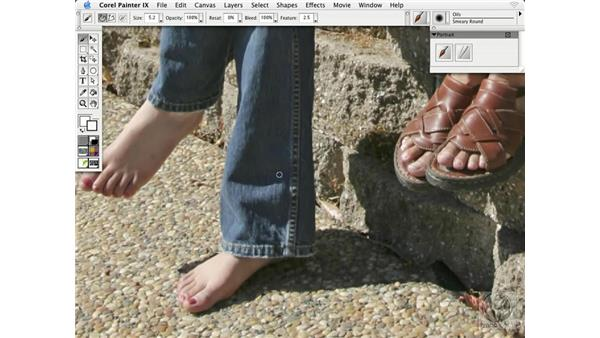 painting on photographs: Getting Started with Corel Painter IX