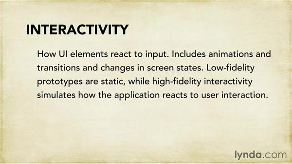 Understanding prototype fidelity: Foundations of UX: Prototyping