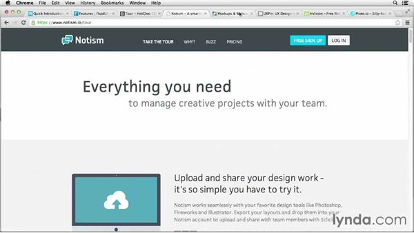 Online prototyping tools: Foundations of UX: Prototyping