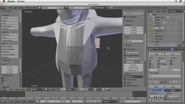 Welcome: Character Modeling in Blender