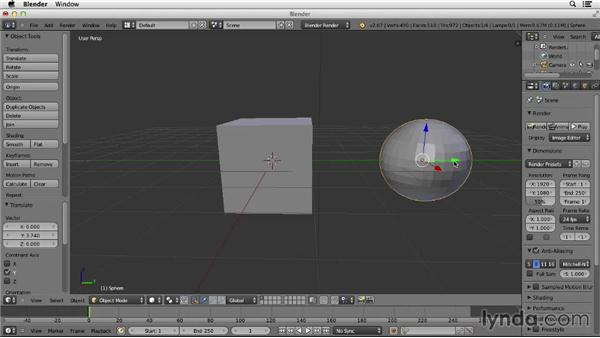 Navigating the 3D viewport: Character Modeling in Blender