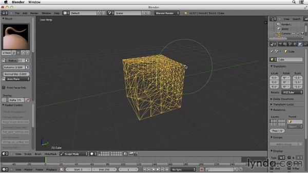 Understanding Dyntopo: Character Modeling in Blender