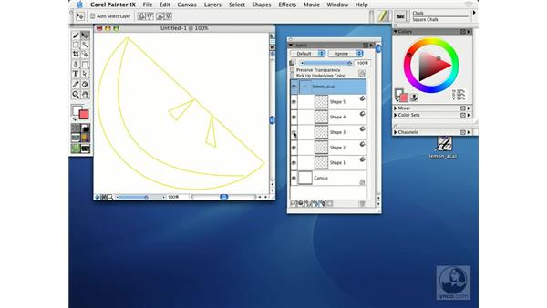 working with adobe illustrator files: Getting Started with Corel Painter IX
