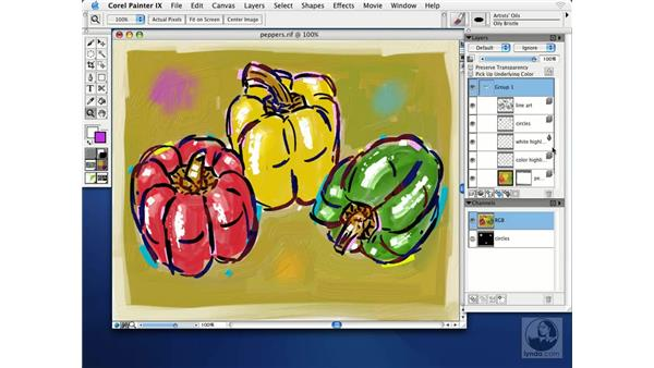 saving adobe photoshop files in corel painter IX: Getting Started with Corel Painter IX