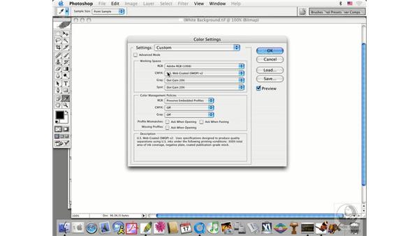 CMYK setup: Photoshop CS Prepress Essentials