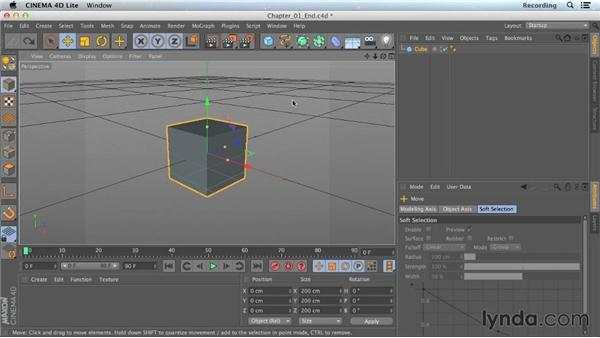 Navigation tips for CINEMA 4D Lite: CINEMA 4D Lite for After Effects: Getting Started