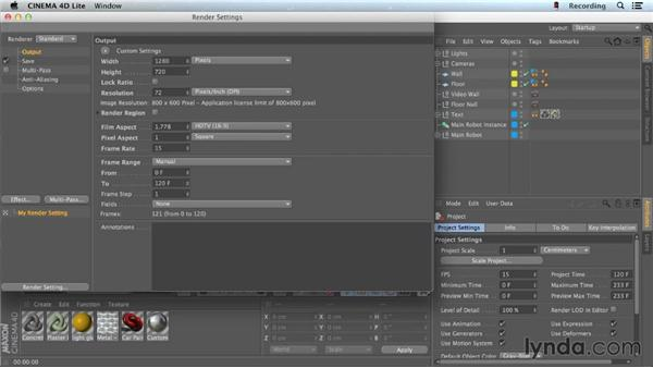 Using the Picture Viewer in CINEMA 4D: CINEMA 4D Lite for After Effects: Getting Started