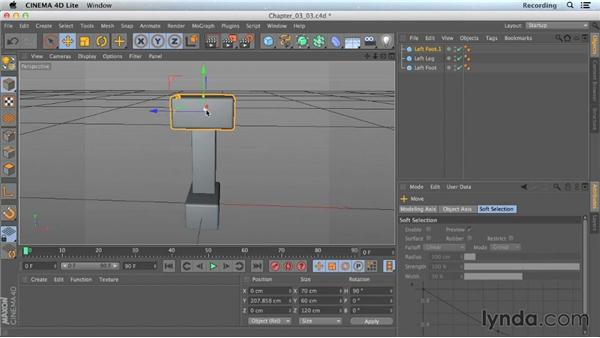 The Rotate tool: CINEMA 4D Lite for After Effects: Getting Started