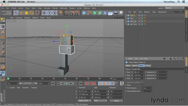 Axis limitations: CINEMA 4D Lite for After Effects: Getting Started