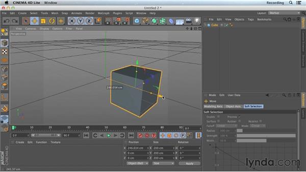 Understanding coordinates: CINEMA 4D Lite for After Effects: Getting Started