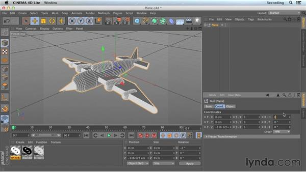 Understanding rotation: CINEMA 4D Lite for After Effects: Getting Started