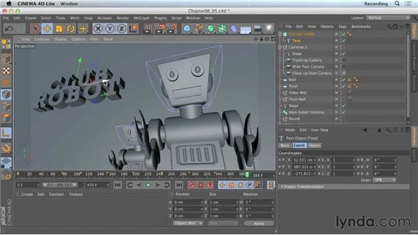 Merging CINEMA 4D files: CINEMA 4D Lite for After Effects: Getting Started