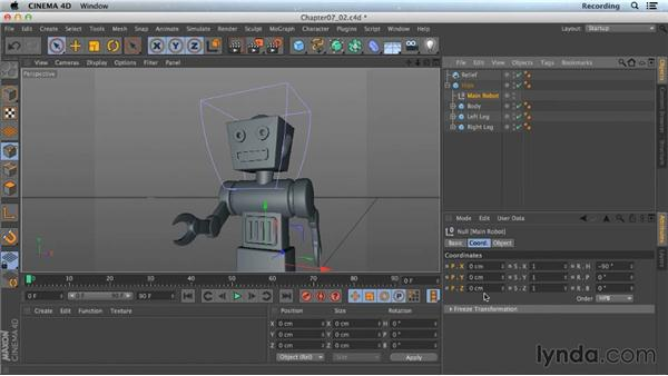 The Reset Position script: CINEMA 4D Lite for After Effects: Getting Started