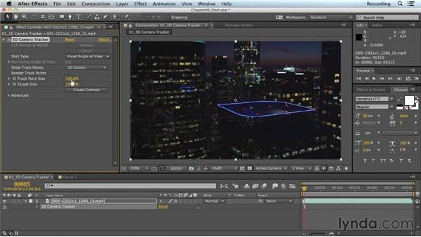 3D camera tracking in After Effects: CINEMA 4D Lite for After Effects: Getting Started