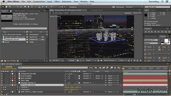 Exporting CINEMA 4D files from After Effects comps: CINEMA 4D Lite for After Effects: Getting Started