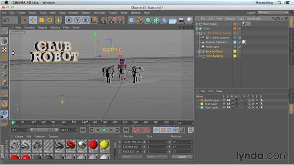 Setting up layers in CINEMA 4D: CINEMA 4D Lite for After Effects: Getting Started