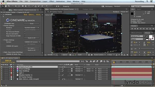 Compositing CINEMA 4D layers in After Effects: CINEMA 4D Lite for After Effects: Getting Started