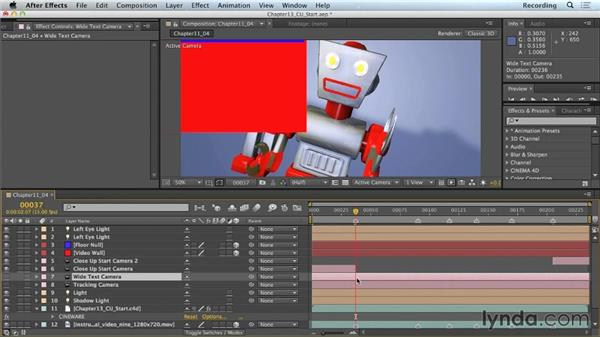 Extracting 3D scene data: CINEMA 4D Lite for After Effects: Getting Started