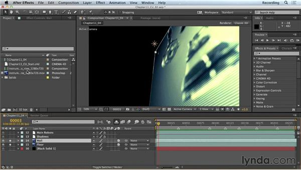 Working with proxies: CINEMA 4D Lite for After Effects: Getting Started