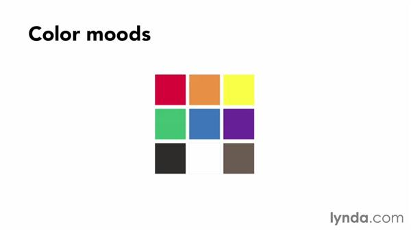 Using color to set the site's mood: Design Aesthetics for Web Design (2013)