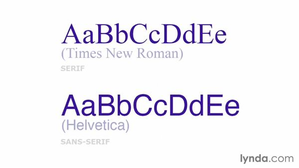 Typography: Choosing and using web fonts: Design Aesthetics for Web Design (2013)