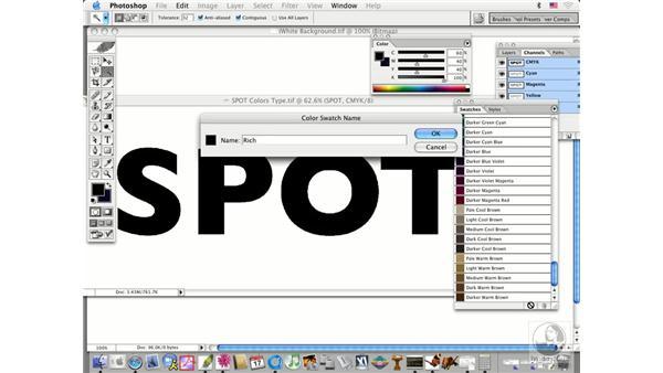 rich blacks: Photoshop CS Prepress Essentials