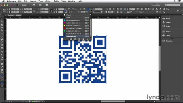 106 Customize your QR codes: InDesign Secrets
