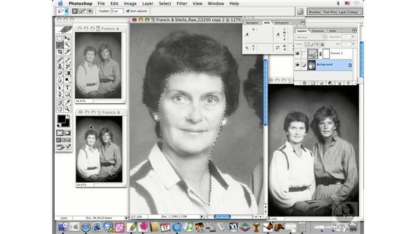 partial area adjustments: Photoshop CS Prepress Essentials