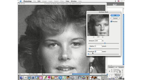 GS sharpening: Photoshop CS Prepress Essentials