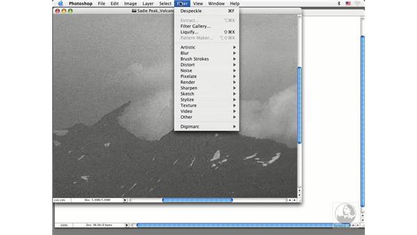 noisy image sharpening: Photoshop CS Prepress Essentials