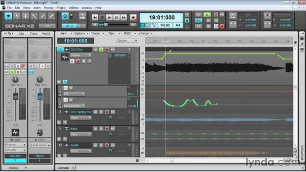 Drawing and editing automation: Up and Running with SONAR X2