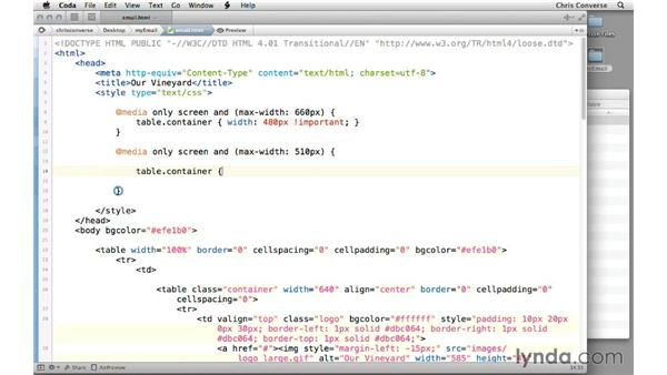 Adding CSS media queries to your HTML email: Creating a Responsive HTML Email