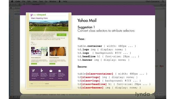Suggestion for Yahoo! Mail incompatibilities: Creating a Responsive HTML Email