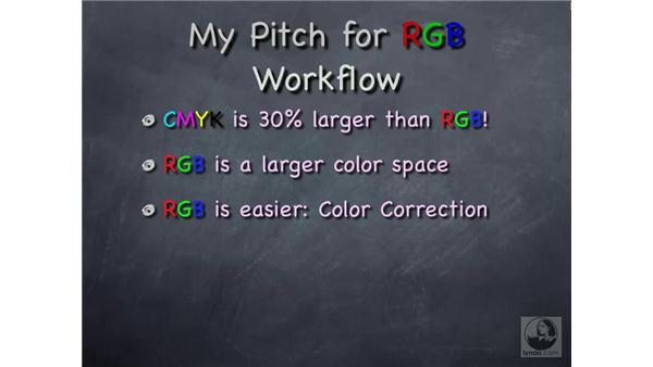 RGB vs CMYK workflow: Photoshop CS Prepress Essentials