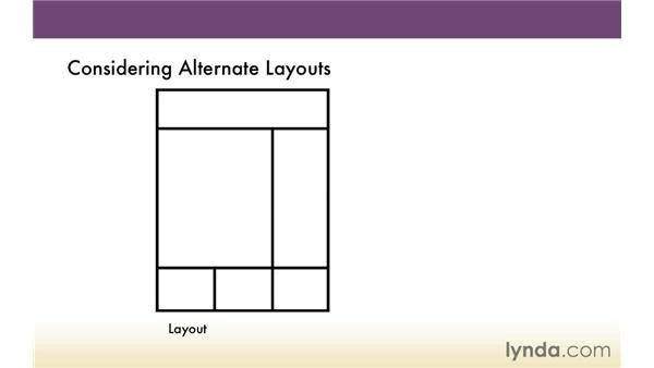 Exploring alternative layouts: Creating a Responsive HTML Email