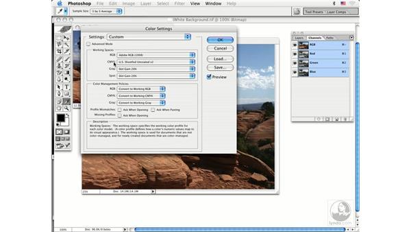 RGB to CMYK basics: Photoshop CS Prepress Essentials