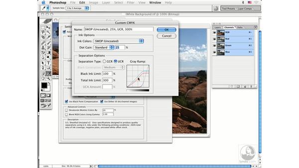RGB-CMYK advanced: Photoshop CS Prepress Essentials