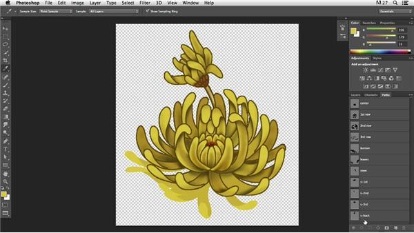 Creating a flower tattoo: Pixel Playground