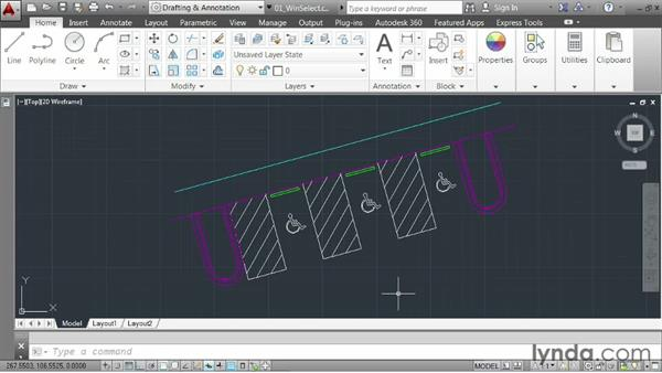 Welcome: AutoCAD 2014 Essentials: 03 Editing and Organizing Drawings